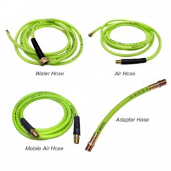 Alpha Air, Water, Mobile and Adapter hoses