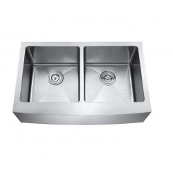 DFS202 Double Equal Bowl Apron Kitchen Sink