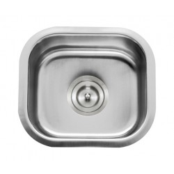 DFS-107 Leatherback - Small Single Bowl Bar Sink