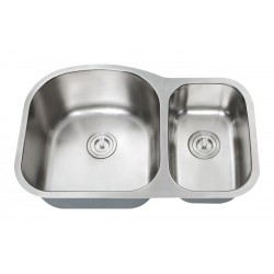 DFS-203 Hercules 70/30 Double Bowl Sink