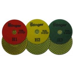 Stinger Dual 3-Step Pads