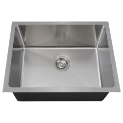 14 Gauge Undermount 3/4 Radius Single Bowl Sink