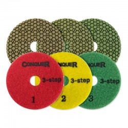 Conquer 3 Step Pads