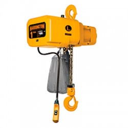 Harrington NER010L-12 Hoist, 1 Ton Capacity