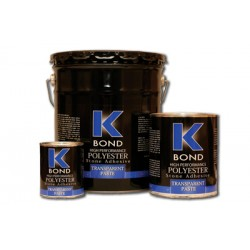 K-Bond Polyester Adhesive - Transparent