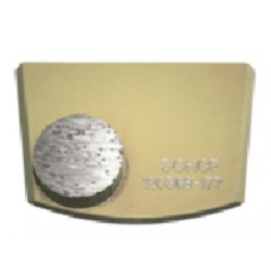 Quick Change Single Button For Extra Hard Concrete (Gold)