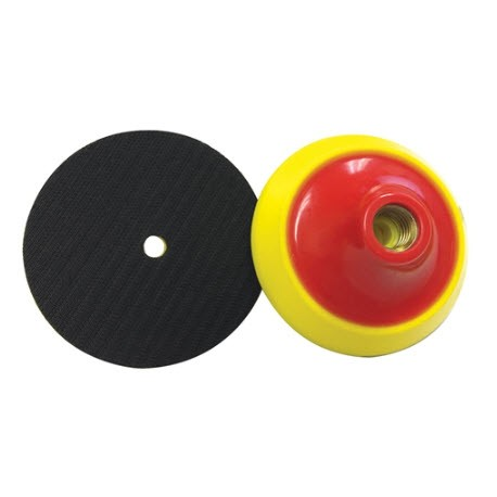 """4"""" x 5/8"""" Thick Flexible Back Up Pad for Sandpaper"""