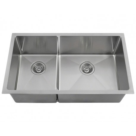 "3160R Double Bowl 3/4"" Stainless Steel Sink"