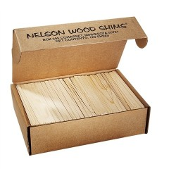 Nelson Wood Shims (120 per carton)