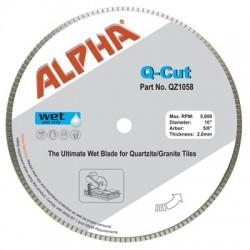 Alpha Q-Cut Blade for Quartzite
