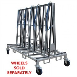 "Weha Large Double Sided Transport Cart (96"" X 43"" X 68"")"