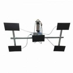 Weha T1500/750 3300lb Capacity Air Power Tilt Vacuum Lifter