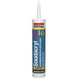 Soudacryl LTX1 Siliconized Acrylic Caulk