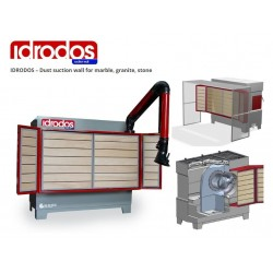 Ghines Idrodos Dust Suction Wall