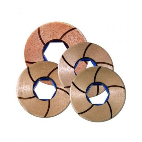 Glossfire Flat Edge Copper Discs