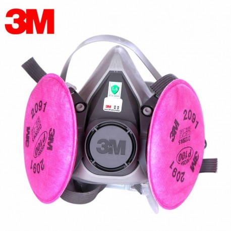 3M™ Half Facepiece Reusable Respirator 6200/07025