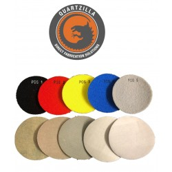 Quartzilla 5 Step Dry Pad for Quartz