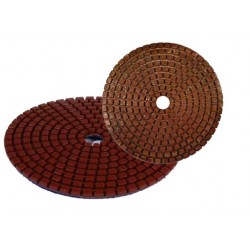 DFS Granulated Metal Bond Polishing Pads
