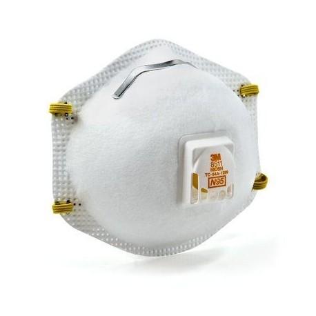 3m 8511 Respirator with Cool Flow Valve