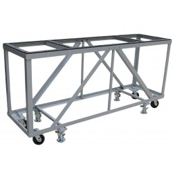 Groves Heavy Duty Fabrication Table - Mobile