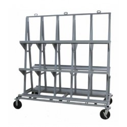 Groves Heavy Duty Backsplash Cart