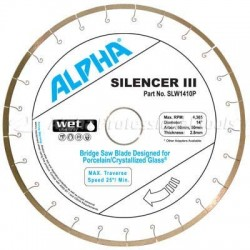 Alpha Silencer III for Porcelain and Crystallized Glass