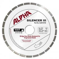 Alpha Silencer III for Engineered Stone