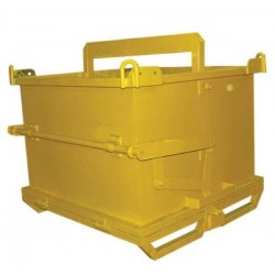 Weha Yellow Waste Container 1 Cubic Yard