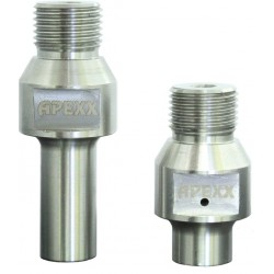"""1/2""""-Gas Adapter for Radial Arm Machines (Regular Thread)"""