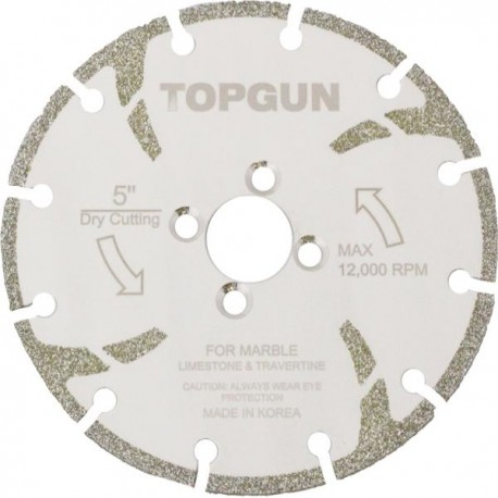 TOPGUN Windmill Electroplated Marble Blade