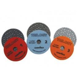 Weha Trilogy 3 Step Diamond Polishing Pads