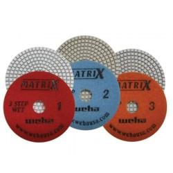 Weha Matrix 3 Step Polishing Pads