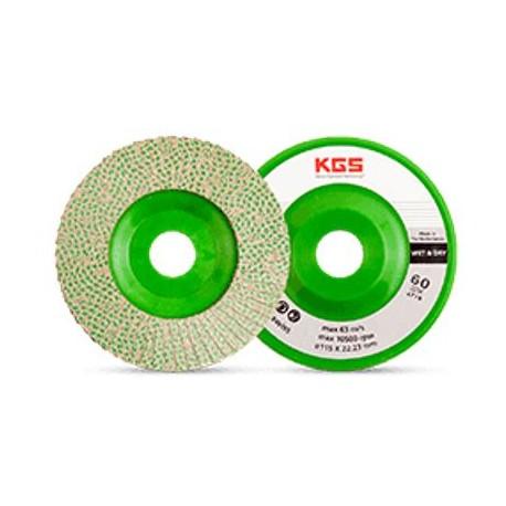 KGS Hybrid Diamond Flap Discs