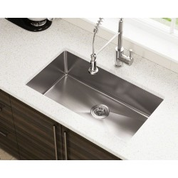 14 Gauge Undermount 3/4 Radius Sinks