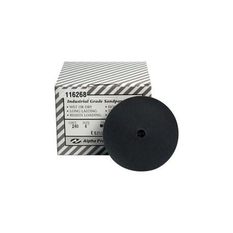 Alpha® QRS Silicon Carbide Sanding Discs