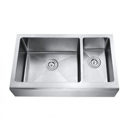 DFS203 1-1/2 Double Bowl Apron Kitchen Sink
