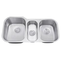 DFS-301 Triangulum Triple Bowl Sink