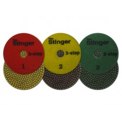 Stinger 3 Step Wet Pads