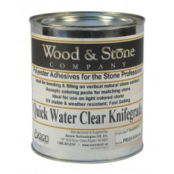 Wood & Stone Quick Water Clear Knife Grade