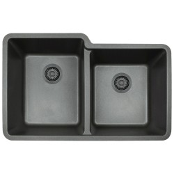 DFS-801 60/40 Granite Composite Sink