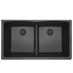 DFS-812 Low Divide Equal Bowl Granite Composite Sink