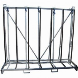 "Weha X-Large Single Sided A-Frame Cart (94"" X 25"" 81"")"