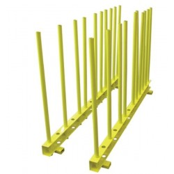 Weha Yellow Remnant Rack